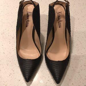 Stunning Neiman Marcus Sling Back Heels